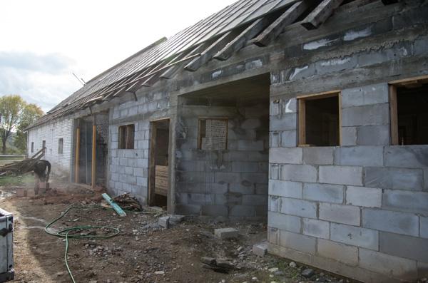 Budowa Centrum Huculskiego w Rudawce Rymanowskiej